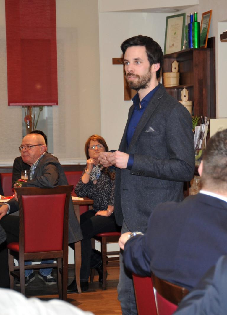 Begrüßung durch SPD-Kreisvorsitzenden Sven Ehrhardt